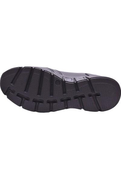 Ayakkabı Burada Ayakkabiburada 2021-309 Tam Ortopedi Yumuşak Deri Erkek Ayakkabı