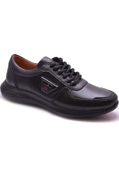 Ayakkabı Burada Ayakkabiburada 2021-310 Tam Ortopedi Deri Erkek Ayakkabı