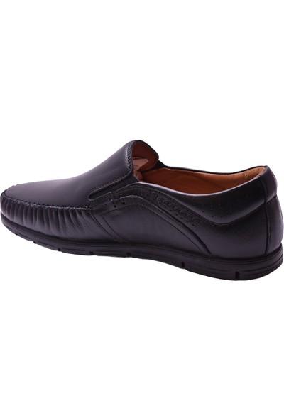 Ayakkabiburada 2021-315 Tam Ortopedi Deri Erkek Ayakkabı