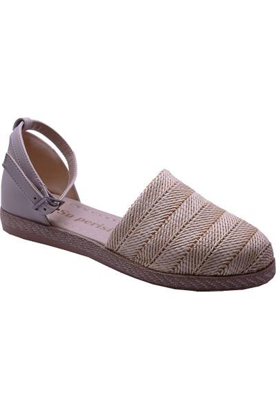 Ayakkabiburada 032-2 Ortopedi Önü Kapalı Günlük Kadın Sandalet