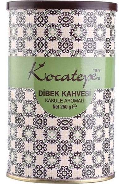 Kocatepe Türk Kahvesi Dibek 250 gr Teneke