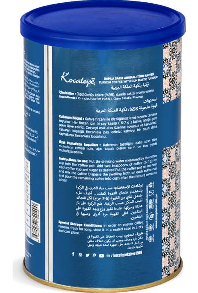 Kocatepe Türk Kahvesi Damla Sakızlı 250 gr Teneke