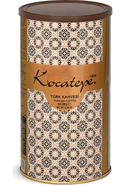 Kocatepe Türk Kahvesi 500 gr Teneke