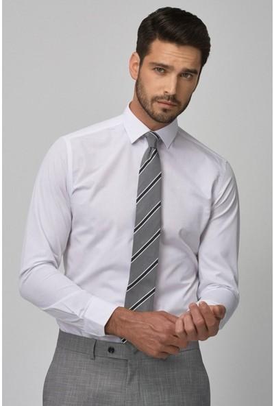 Madmext Beyaz Gömlek 4947