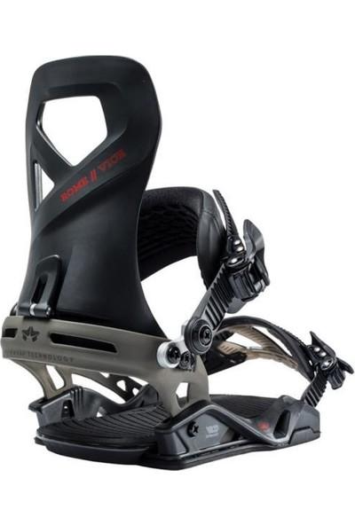 Rome Vice G1 Snowboard Bağlama Siyah