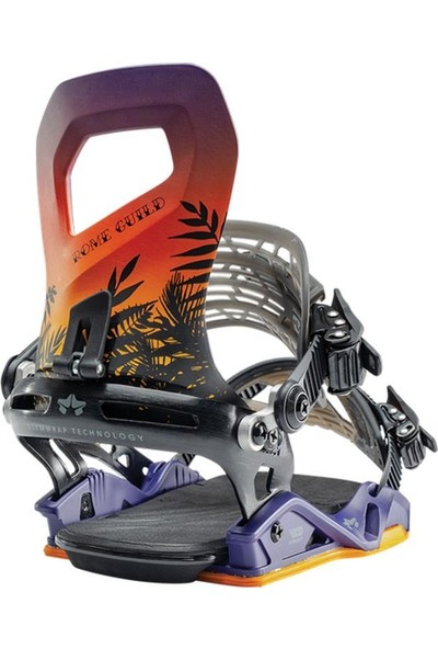 Rome Guild G2 Snowboard Bağlama Mor