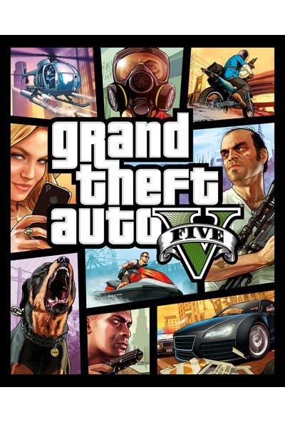 Grand Theft Auto V Pc Rockstargames Cd-Key Gta 5