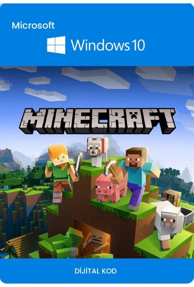 Minecraft Windows 10 Edition PC Dijital Oyun