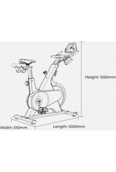 Xiaomi Yesoul M1 Smart Spin Bike Kondisyon Bisikleti