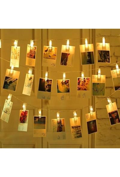 Zen 20 Li Gün Işığı Ledli Fotoğraf Mandalları
