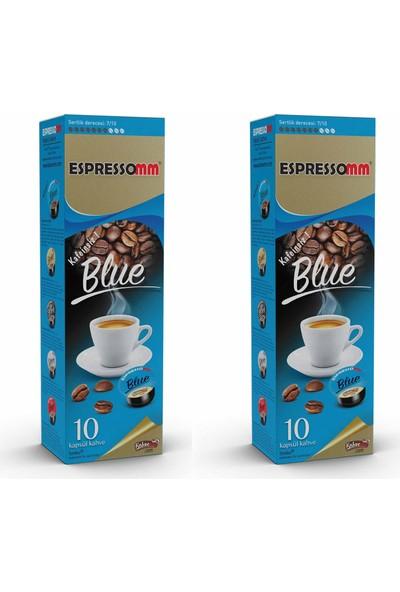 Espressomm Blue Kapsül Kahve Kafeinsiz 20'li Tchibo Uyumlu