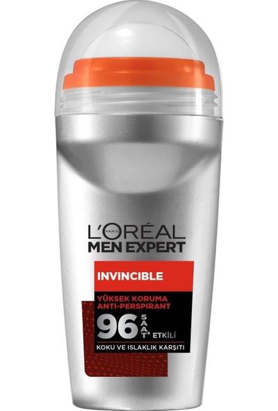 L'oreal Paris Men Expert Invincible Anti Perspirant Yüksek Koruma Erkek Roll On 50 ml