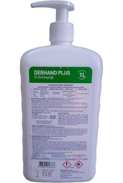 1 Lt Derhand Plus El Dezenfektanı+Pompalı