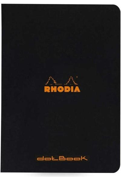 Rhodia Classic A5 Noktalı Defter Siyah Kapak 48 Yaprak