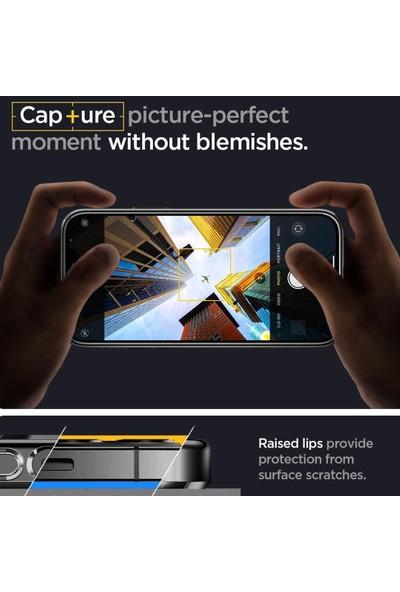 Spigen Apple iPhone 12 Pro Kılıf Optik Crystal Chrome Gray - ACS02102