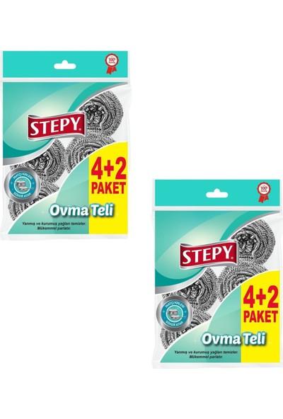 Stepy Ovma Telı 6'lı Eko Paket x 2