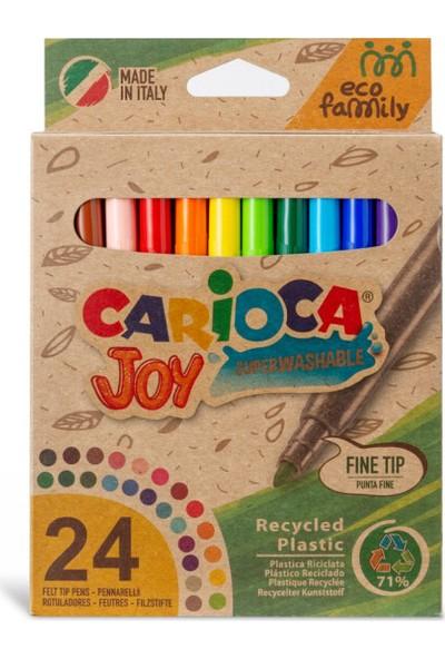 Carioca Joy Eco Family Keçeli Kalem 24'lü