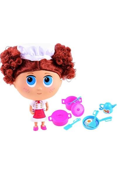 Koca Göz Ailesi Aşçı Bebek Kızıl Saçlı