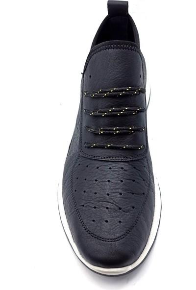 James Franco Beyaz Deri Erkek Sneaker Ayakkabı