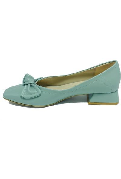 De Scarıo 205 Yesıl Fıyonklu Günlük Ayakkabı
