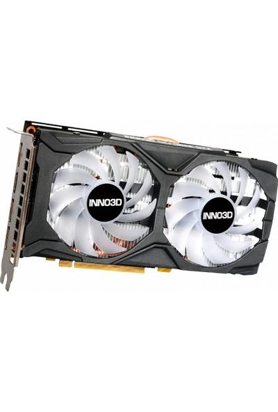 INNO3D Geforce GTX1660TI Twin X2 Oc Rgb 6gb 192BIT Gddr6 Ekran Kartı (N166T2-06D6X-1710VA15LB)