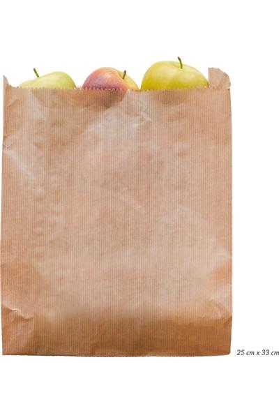 Anadolu Kağıtçılık Çizgili Şamua 40 G Kraft Kese Kağıdı Ithal 25 x 33 cm 10 kg 1000'LI