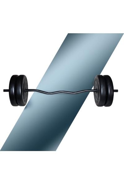 Fitset 96 kg Z Barlı Halter Seti ve Dambıl Seti Ağırlık Fitness Seti