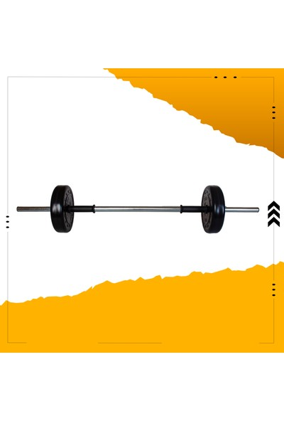 Fitset 23 kg Kombo Halter Seti ve Dambıl Seti Ağırlık Fitness Seti