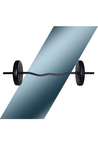 Fitset 46 kg Z Barlı Halter Seti ve Dambıl Seti Ağırlık Fitness Seti