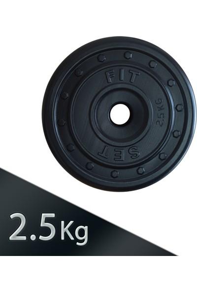 Fitset 2.5 kg Dambıl ve Halter Ağırlık Plaka