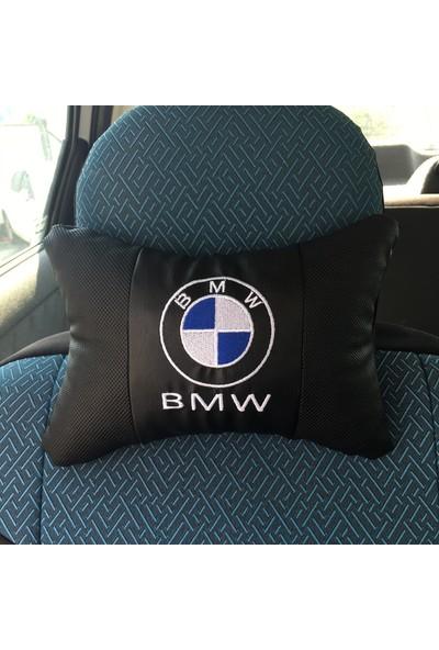 Brs Bmw Seyahat Oto Boyun Yastığı ve Emniyet Kemer Kılıfı (Set)