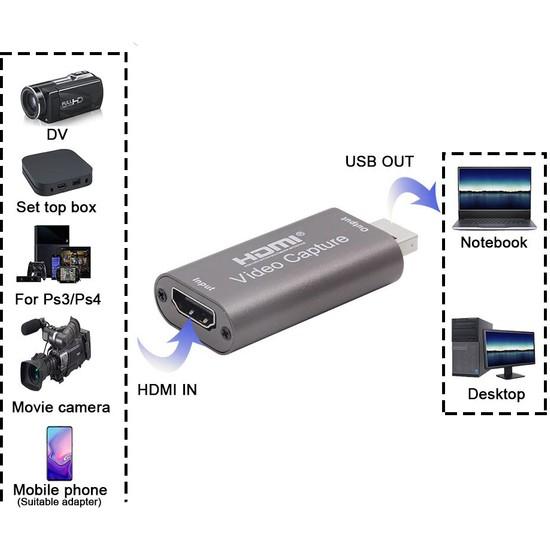 Daytona FC28 4K Full HD 1080p HDMI USB Video Oyun Ses Ders Görüntü Yakalama Capture Canlı Yayın Kartı