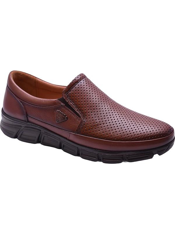 Ayakkabiburada 2021-314 Ortopedi Deri Erkek Ayakkabı
