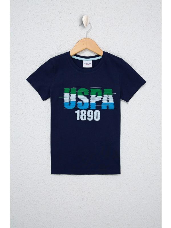 U.S. Polo Assn. Erkek Çocuk Lacivert T-Shirt 50238333-VR033