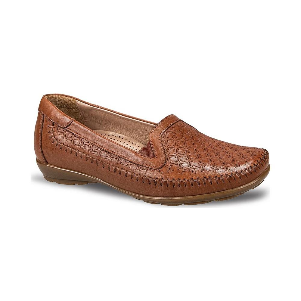 Ceyo 9921-6 Taba Kadın Ayakkabı