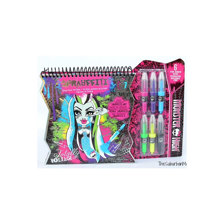 Monster High Fashion Angels Sprayfitti Sprey Boyama Sanatı Fiyatı