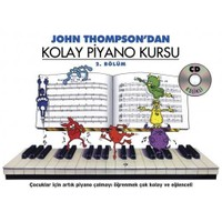 Kolay Piyano Kursu 2 - John Thompson