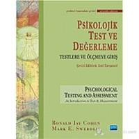 Psikolojik Test ve Değerleme (Ciltli)