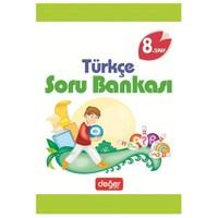 8 Sınıf Türkçe Soru Bankası Değer Yay