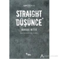 Straight Düşünce-Monique Wittig