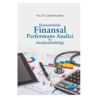 Hastanelerde Finansal Performans Analizi Ve Sürdürülebilirliği-Cantürk Kayahan