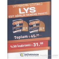 Güvender LYS Ustasından Çözümlü Eşit Ağırlık Deneme Paketi - 6'lı
