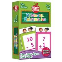 Flaş Kartlar: Matematik Kahmanları (Toplama - Çıkarma) Oyna - Eğlen - Öğren - Zeka Geliştir (Süper Ç