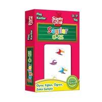 Flaş Kartlar: Sayılar 0 - 25 Oyna - Eğlen - Öğren - Zeka Geliştir (Süper Çocuk Serisi)