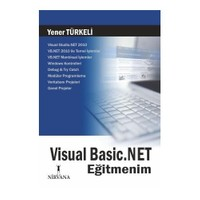 Visual Basic.NET Eğitmenim - Yener Türkeli