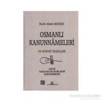 Osmanlı Kanunnameleri Ve Hukuki Tahlilleri Cilt: 3