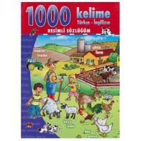1000 Kelime Türkçe İngilizce Resimli Sözlüğüm