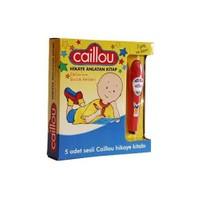 Yumurcak Dünyası Caillou Hikaye Anlatan Kalem + 5 Hikaye Kitabı