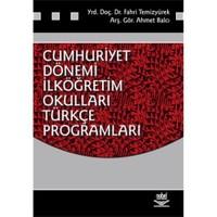 Cumhuriyet Dönemi İlköğretim Okulları Türkçe Programları