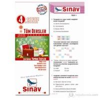 Sınav Dergi 4.Sınıf Tüm Dersler Yaprak Test (104 Adet)